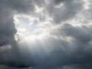 Rays Of Hope In A Stormy Sky by Ginny York