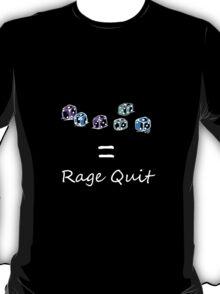 Rage Quit - Dark T's  T-Shirt