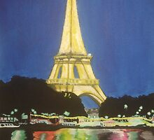 I Love Paris by Night by Louise Griffiths