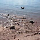 Slated Waters - Lake Michigan by mjparsons