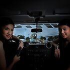 Inside a Land Rover  by jundiosalvador
