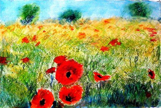 Adam Pearson's 'Poppy Field' by Art 4 ME