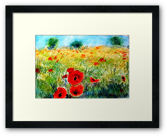 Adam Pearson's 'Poppy Field' by Art 4 ME