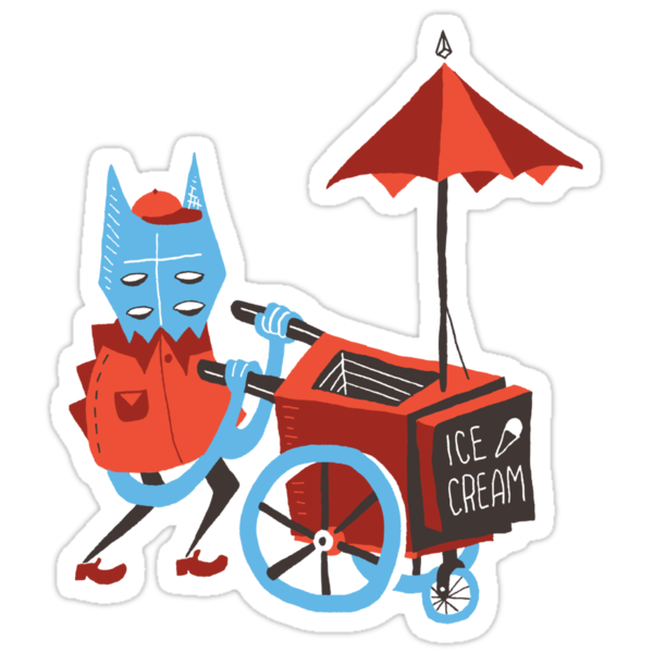 Ice Cream Beastie by Riley McDonald