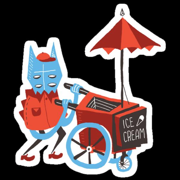 Ice Cream Beastie by Riley McDonald