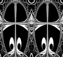 Freaky Fractal Creatures by Charldia