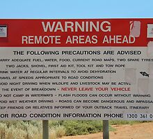 Remote Area Warning by MyPerspective