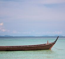 the blues of the andaman sea by Leah Gay