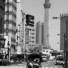 Asakusa Rickshaw Runner by OldSailor