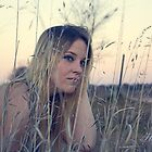 Amber in the Grass by ladyhalftone