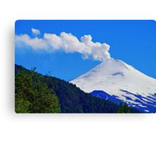 Villarrica Volcano Chile - Explore Feature 02/29/2012 Canvas Print