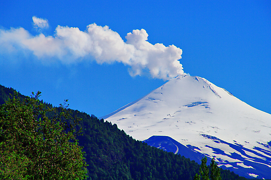Villarrica Volcano Chile - Explore Feature 02/29/2012 by Daidalos