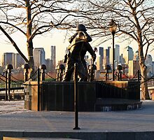 Hoboken WWII Memorial by pmarella