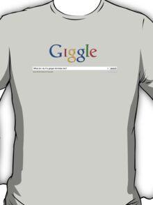 Google Spoof - Ginger kid bites me T-Shirt