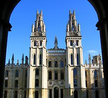 All Souls College, Oxford by hjaynefoster
