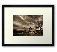 Abandoned in Clarks Valley Framed Print