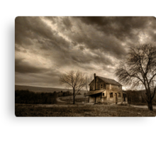 Abandoned in Clarks Valley Canvas Print
