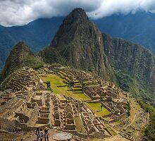 Machu Picchu, Classic View by strangelight