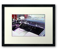 """1956 Pontiac Star Chief"""" Framed Print"""