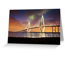 Arthur Ravenel Jr. Bridge - Charleston, SC Greeting Card