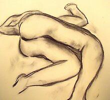Nude Study #1 by cjmrowlands