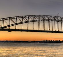 Icon Dreams - Sydney Harbour Bridge, Sydney Australia  (25 Exposure HDR) - The  by Philip Johnson