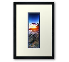 Happy Valley Sunset Framed Print