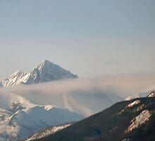 cloudy peak along the Alaska Highway by Rick Honey