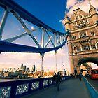 Tower Bridge, London by strangelight