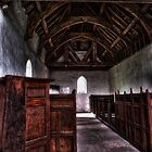 Langley Chapel (view from the pulpit) by Alan E Taylor