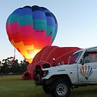 Balloons at Canowindra - Byron Bay Ballooning by DashTravels
