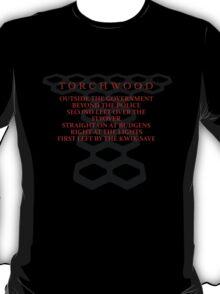 Torchwood Parody T-Shirt
