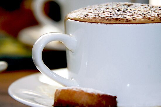 Cappuccino Time by Hege Nolan