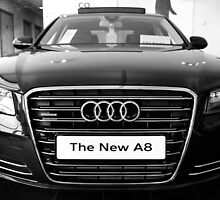 Audi A8L Front View by AndrewBerry
