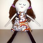 Handmade rag doll - Claudia by Naomi  O'Connor