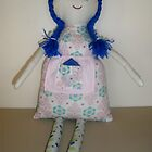 Handmade rag doll - Matilda by Naomi  O'Connor