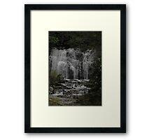meigs waterfall 2 Framed Print