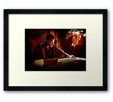 Scriptures Framed Print