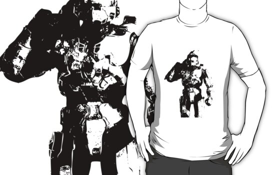 Halo - Master Chief Silhouette by Animenace