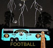 Scream Football Star by Eric Kempson
