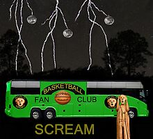 Scream Basketball by Eric Kempson