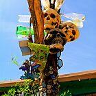 yard art by johnny hancen