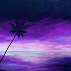 Purple Tropics by Linda Woodward