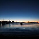 Wellington Point, Qld, sunrise Feb 2010 by Odille Esmonde-Morgan