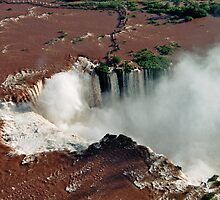 Foz do Iguazu from above by julie08