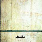 Lone Boat by Mike Matthews