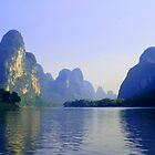 Li River, China Subject: Landscape, river, Guilin by fotinos