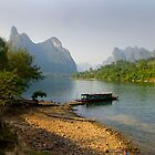 Li River, China - Fine Art Poster - Landscape by fotinos
