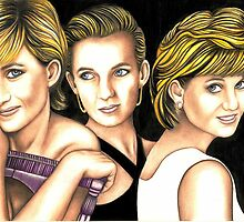 Diana in triplicate 224 views by Margaret Sanderson