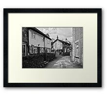 Village Cottages, Castleton Framed Print